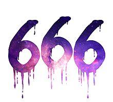 666 - White Photographic Print