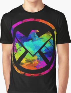 Splatter S.H.I.E.L.D.  Graphic T-Shirt