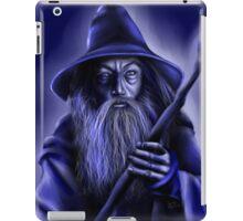 Gandalf in Blue iPad Case/Skin