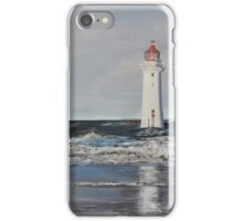 Fort Perch Rock Lighthouse - New Brighton iPhone Case/Skin