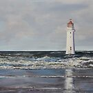 Fort Perch Rock Lighthouse - New Brighton by Mike Paget