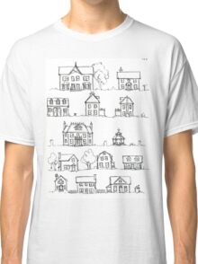 Sketching a Neighborhood Classic T-Shirt