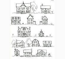 Sketching a Neighborhood Unisex T-Shirt