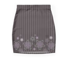 Scattered Cherry Blossoms Mini Skirt