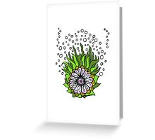 Ned's Atomic Flower Greeting Card