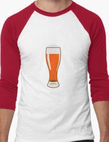 Beer Beer Glass Men's Baseball ¾ T-Shirt