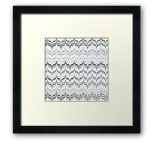 Marbled Dove Feathers Framed Print