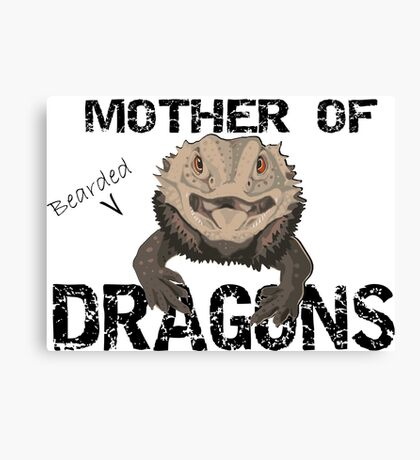 Mother of Bearded Dragons Canvas Print