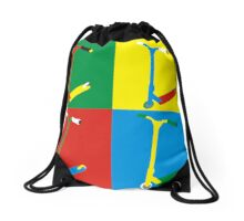 Colour Scooter no FSC logo Drawstring Bag