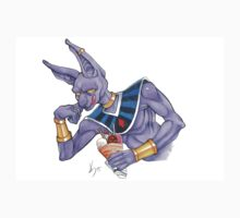 Lord Beerus Card One Piece - Short Sleeve