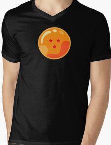 3 Stars Mens V-Neck T-Shirt