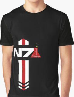 N 7 Nitrogen Effect Graphic T-Shirt