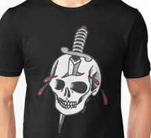 Dagger and Skull  Unisex T-Shirt