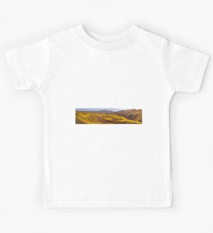 Fall taiga recovering from fire, Fox Lake burn, Yukon Territory, Canada Kids Tee