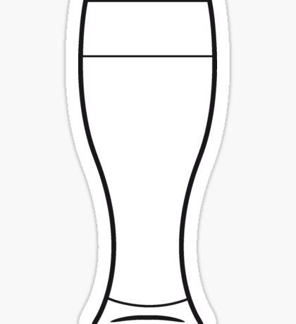 Beer Beer Glass Sticker