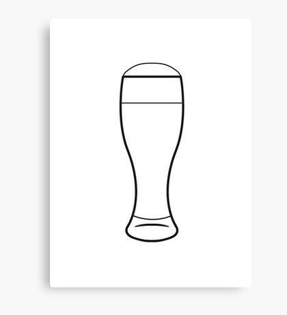 Beer Beer Glass Canvas Print