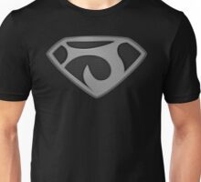 "The Letter J in the Style of ""Man of Steel"" Unisex T-Shirt"
