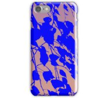 leaves abstract 1 iPhone Case/Skin