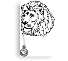 Lion of Time Canvas Print