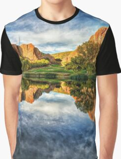 Colorful Colorado by Lena Owens/OLena Art Graphic T-Shirt