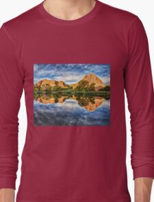 Colorful Colorado by Lena Owens/OLena Art Long Sleeve T-Shirt
