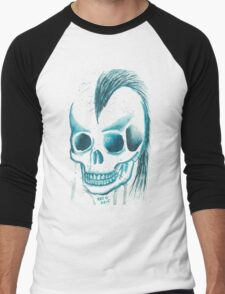 Punk Skull Men's Baseball ¾ T-Shirt