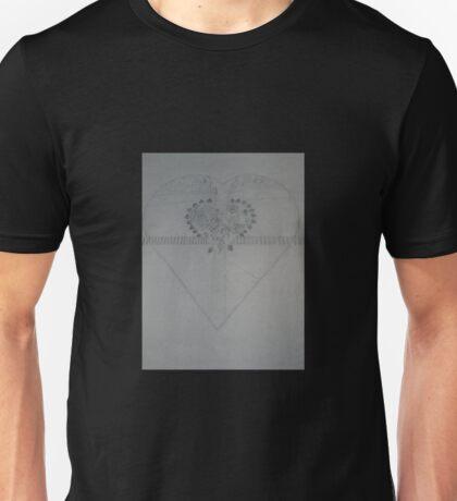 Road Leading to You - BW Unisex T-Shirt