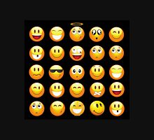 black emojis Unisex T-Shirt