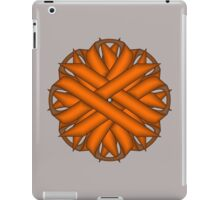 Orange Flower Ribbon iPad Case/Skin