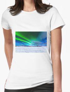 Intense display of Northern Lights Aurora borealis T-Shirt