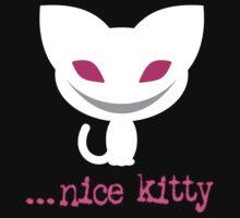 Nice Kitty (Dark Background) Baby Tee