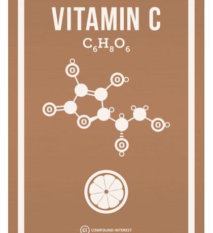 Vitamin C Sticker