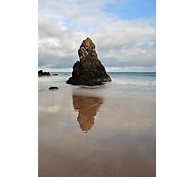 Sango Bay Beach Rock Reflection Photographic Print