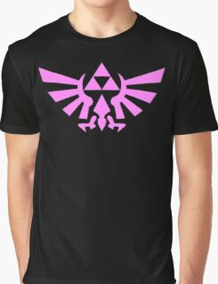 Triforce (Pink) Graphic T-Shirt