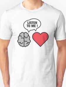 head vs. heart T-Shirt