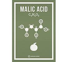 Malic Acid Photographic Print