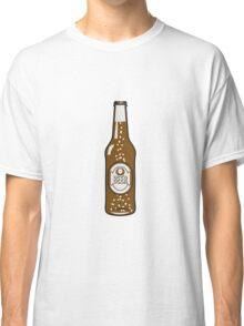 Beer drinking beer bottle Classic T-Shirt