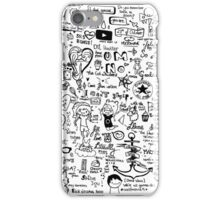 Dan and Phil (and other stuff) doodle.  iPhone Case/Skin