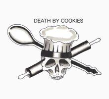 Death By Cookies Kids Tee