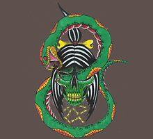 Green Shrunken Head Unisex T-Shirt