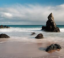 Rocky Beach on Sango Bay by Maria Gaellman