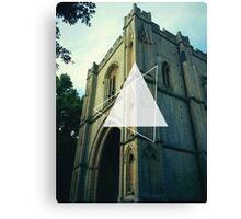 English church Canvas Print