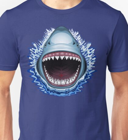 Shark Jaws Attack Unisex T-Shirt