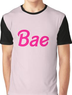 Bae barbie font Graphic T-Shirt