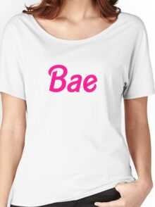 Bae barbie font Women's Relaxed Fit T-Shirt