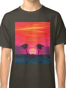 Retro sunset 2 Classic T-Shirt