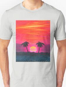 Retro sunset 2 Unisex T-Shirt