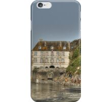Low tide at the Mont Saint-Michel iPhone Case/Skin
