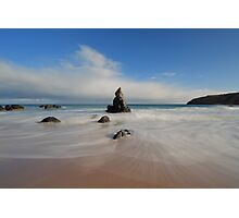 Blue Skies Above Sango Bay Photographic Print