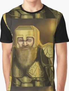 Dwarven Warrior Graphic T-Shirt